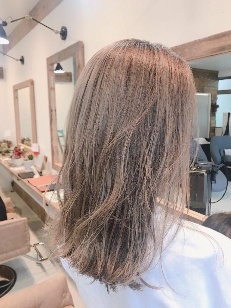 ボブヘアーカラーリング巻き髪ロングヘア