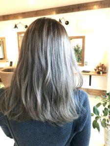 髪色の写真